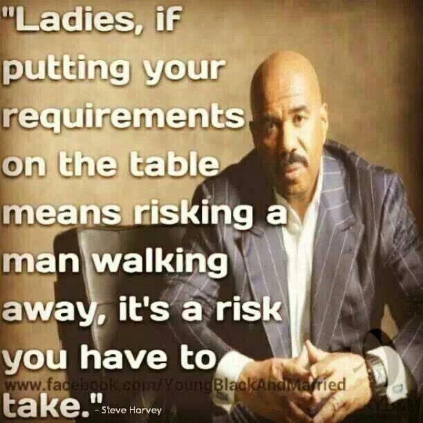 Advice From Steve Harvey Waitingforlove